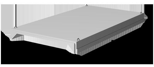Плиты покрытия 3 х 6 м  ГОСТ 22701