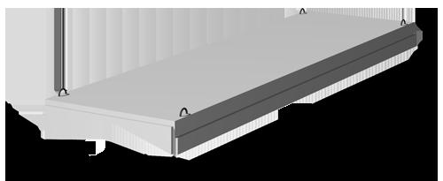 Плиты покрытия 1,5 х 12 м серии 1.465