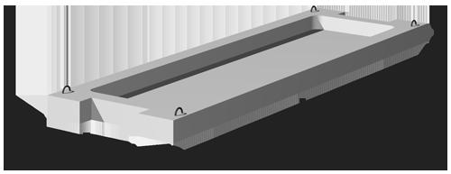 Плиты ребристые для общественных, жилых и админ. зданий