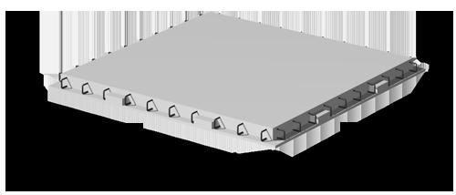 Диафрагмы жесткости серии КБК