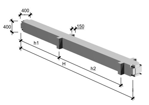 Колонны адинистративно-бытовых  и промышленных зданий