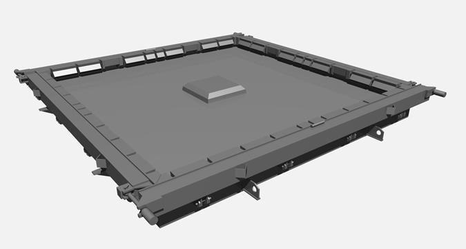 Металлоформы изделий серий КБК и КУБ 2,5